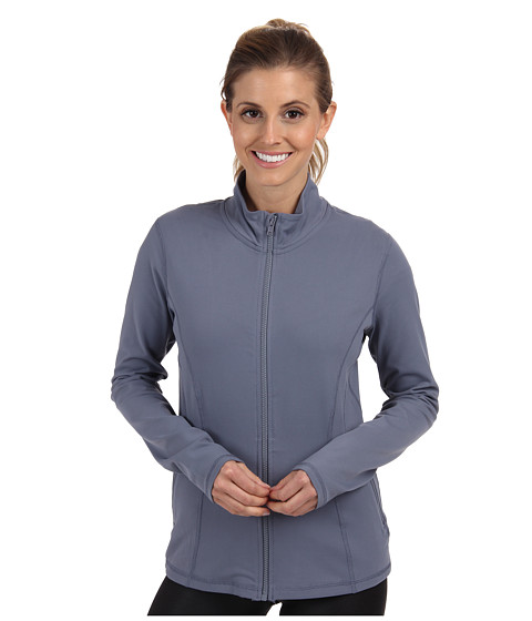 Zobha - Monica Shape Enhancing Jacket (Folkstone Gray) Women's Workout