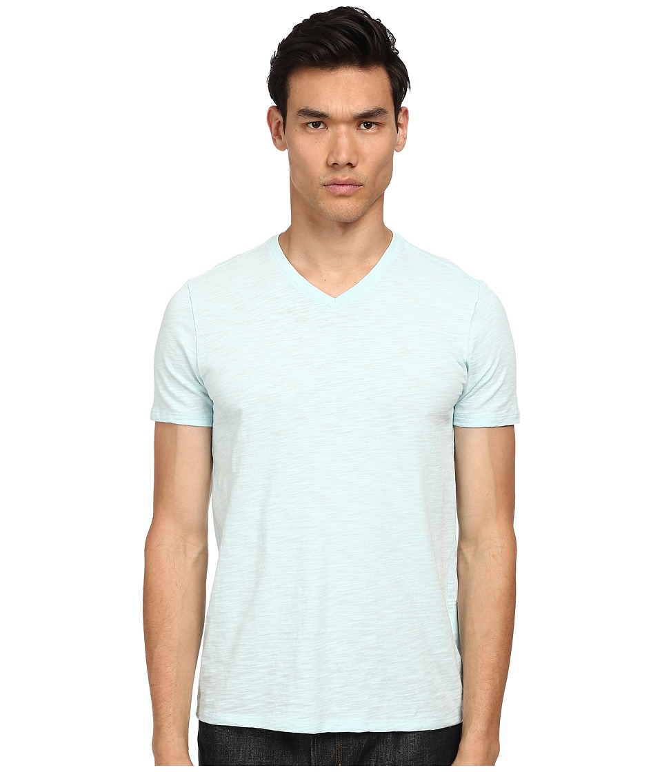 Vince - S/S V-Neck T-Shirt (Ocean Mist) Men