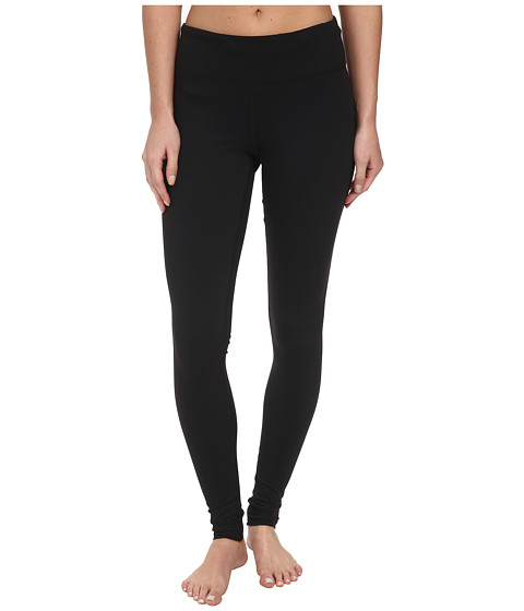 Zobha - Trim-To-Hem Legging (Black) Women's Workout
