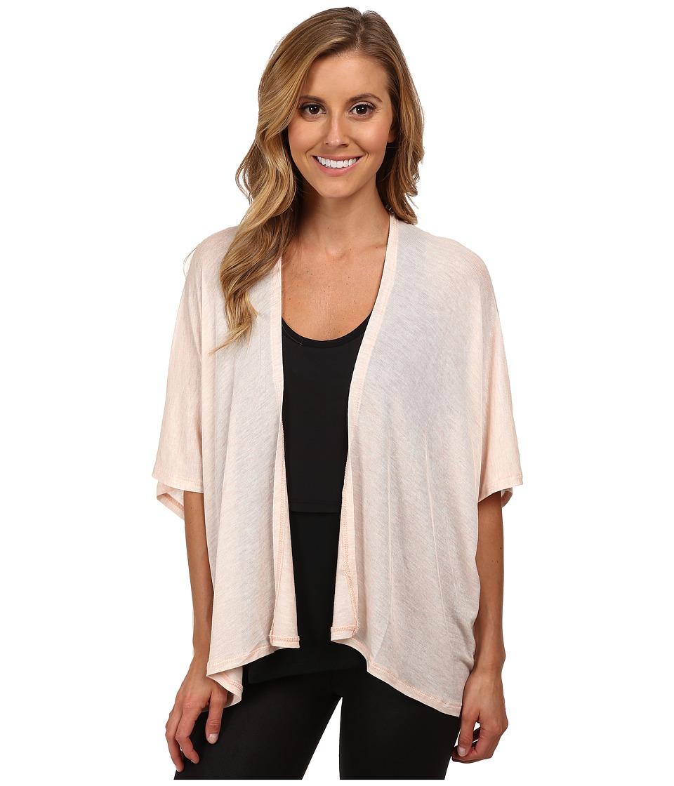 Zobha - Tamara Open Cardigan (Heather Soft Pink) Women's Sweater