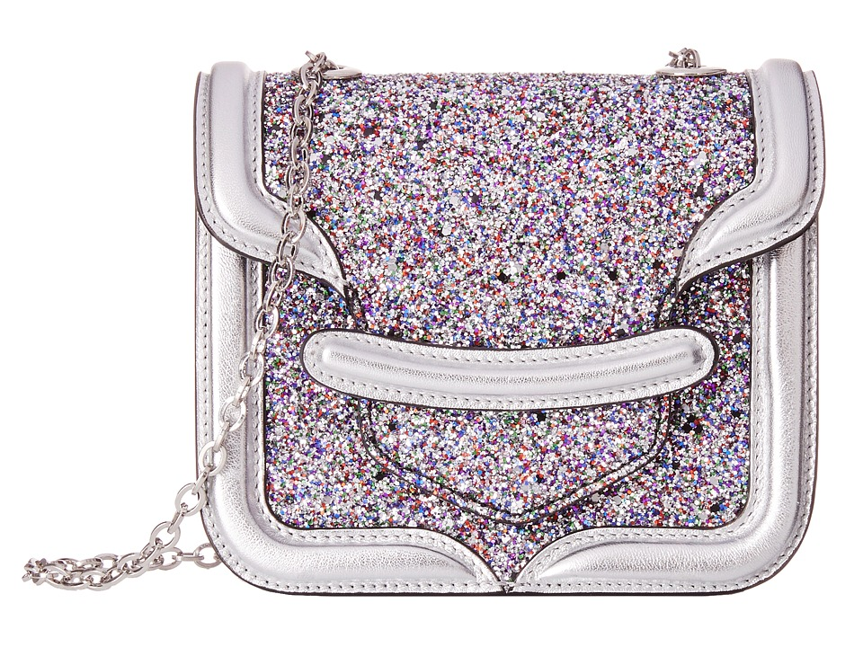 Alexander McQueen - Mini Heroine Chain Satchel (Multi/Silver) Cross Body Handbags