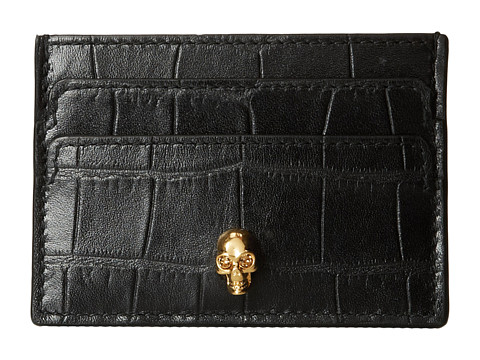 Alexander McQueen - Card Holder (Black 1) Credit card Wallet