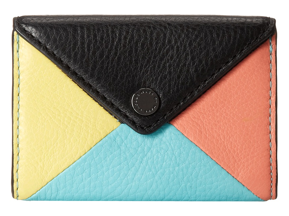 Marc by Marc Jacobs - Metropoli Hvac Envelope Card Case (Black Multi) Credit card Wallet
