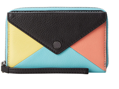Marc by Marc Jacobs - Metropoli Hvac Wingman (Black Multi) Wallet