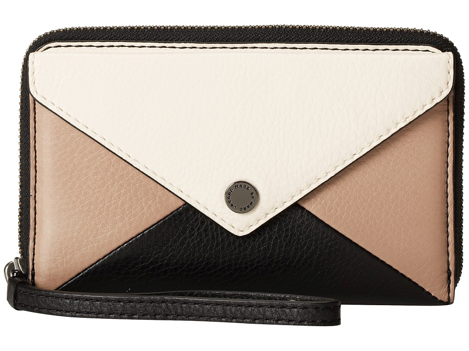 Marc by Marc Jacobs - Metropoli Hvac Wingman (Leche Multi) Wallet