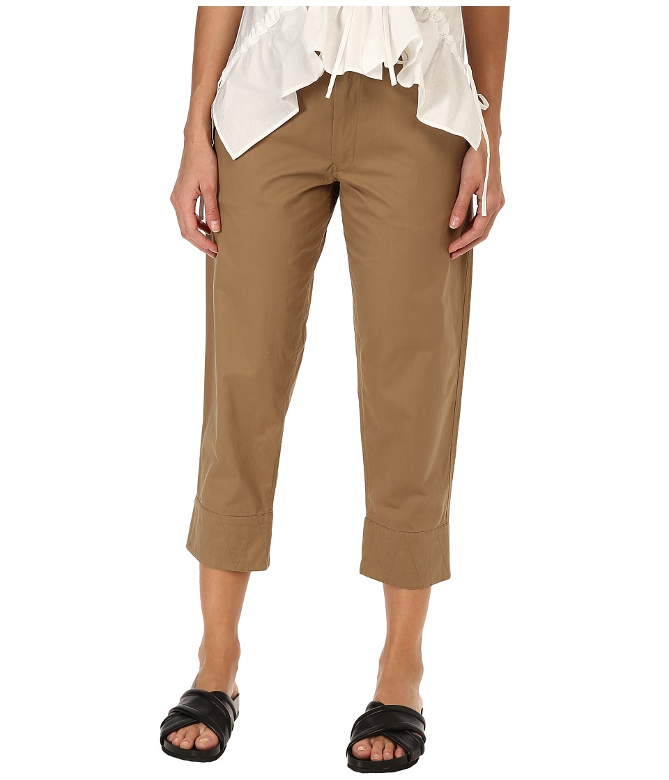 Y's by Yohji Yamamoto - Medium China Pants (Beige) Women's Casual Pants