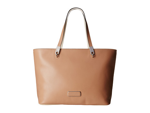 Marc by Marc Jacobs - Ligero East West Tote (Dark Buff Multi) Tote Handbags