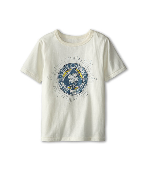Lucky Brand Kids - Spades Tee (Little Kids/Big Kids) (Papyrus) Boy