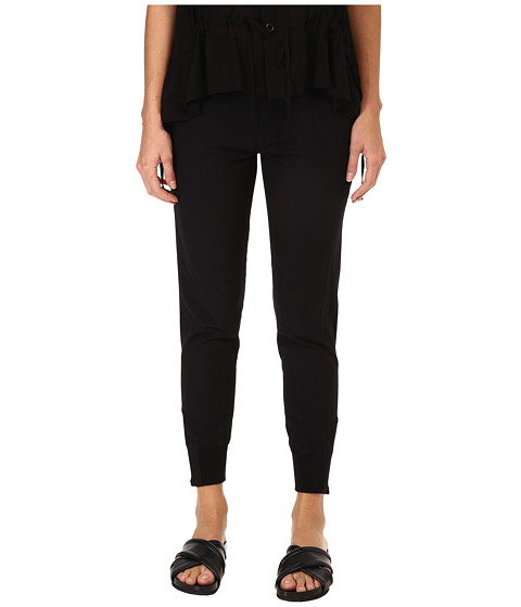 Y's by Yohji Yamamoto - Rib Hem Thin (Navy) Women's Clothing