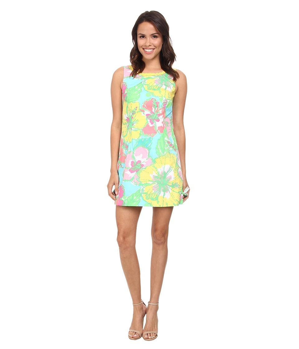 Lilly Pulitzer - Delia Shift Dress (Shorely Blue Big Flirt) Women's Dress