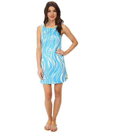 Lilly Pulitzer - Delia Shift Dress (Resort White Joe Fish) Women