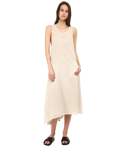 Y's by Yohji Yamamoto - Back Cross (Off White) Women's Dress