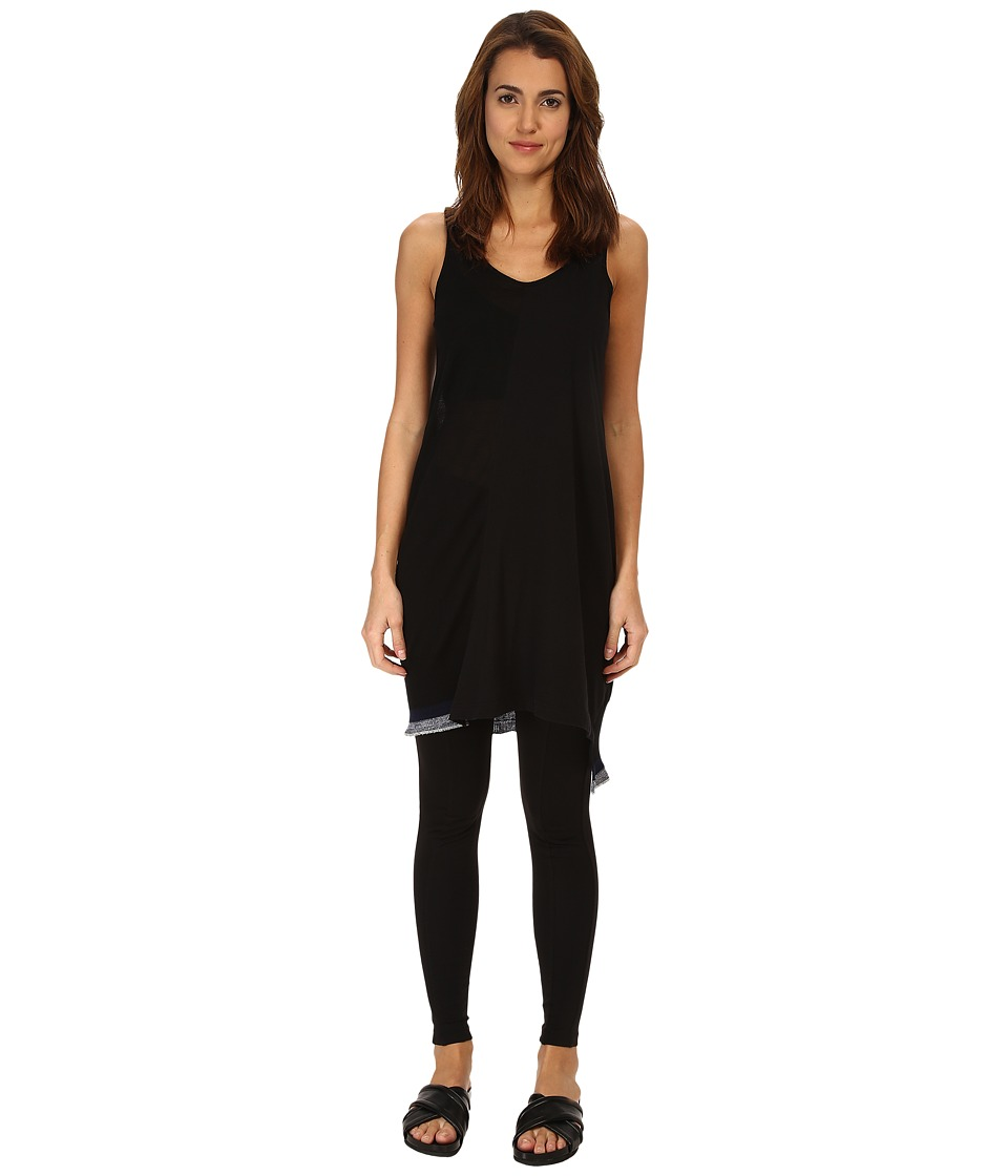 Y's by Yohji Yamamoto - Tank Top (Black) Women's Sleeveless