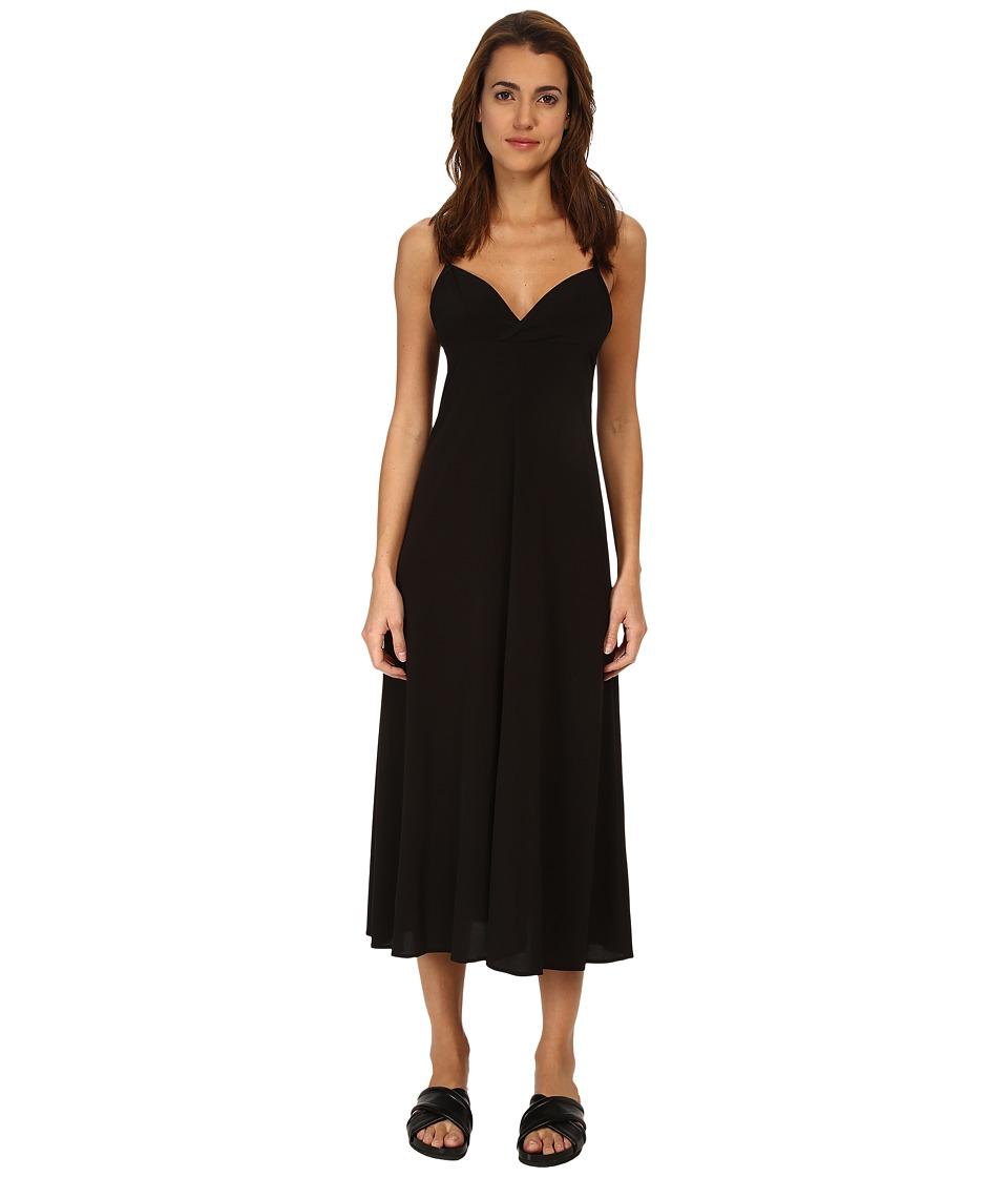 Y's by Yohji Yamamoto Slip Black Dress