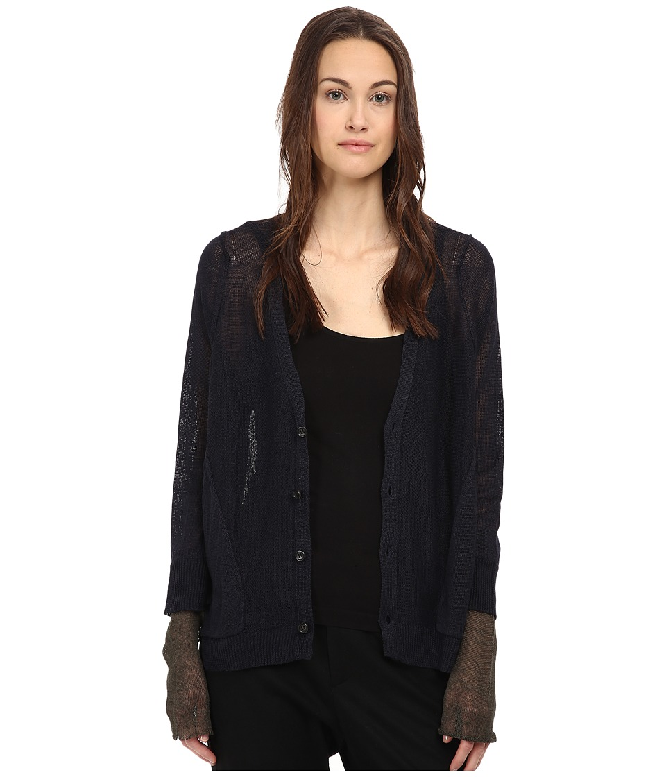 Y's by Yohji Yamamoto - Patch Pocket (Navy) Women's Clothing