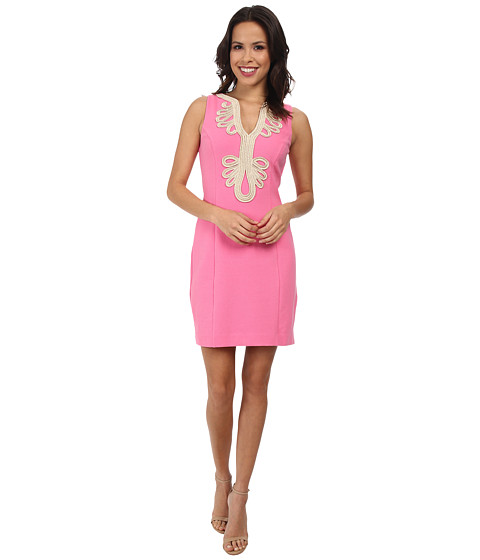 Lilly Pulitzer - Janice Shift Dress (Hotty Pink) Women