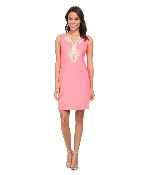 Lilly Pulitzer - Janice Shift Dress (Pucker Pink) Women's Dress
