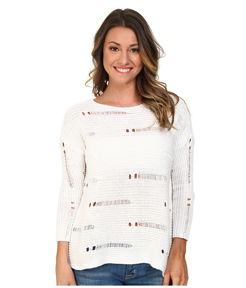Volcom - Easy Does It Sweater (White) Women's Sweater