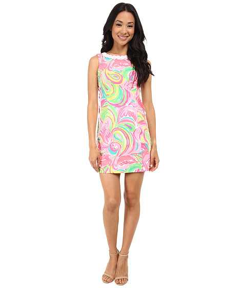 Lilly Pulitzer - Mila Shift Dress (Multi All Nighter) Women's Dress