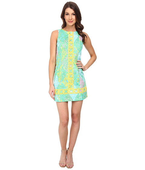 Lilly Pulitzer - Mila Shift Dress (Multi Sun Dance Small) Women's Dress
