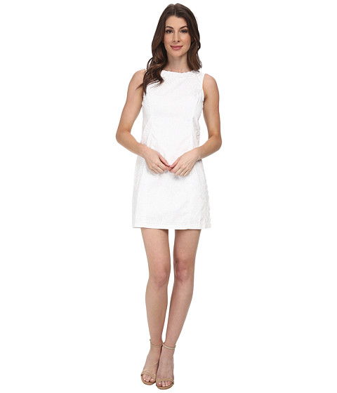 Lilly Pulitzer - Mila Shift Dress (Resort White Lion in the Sun) Women