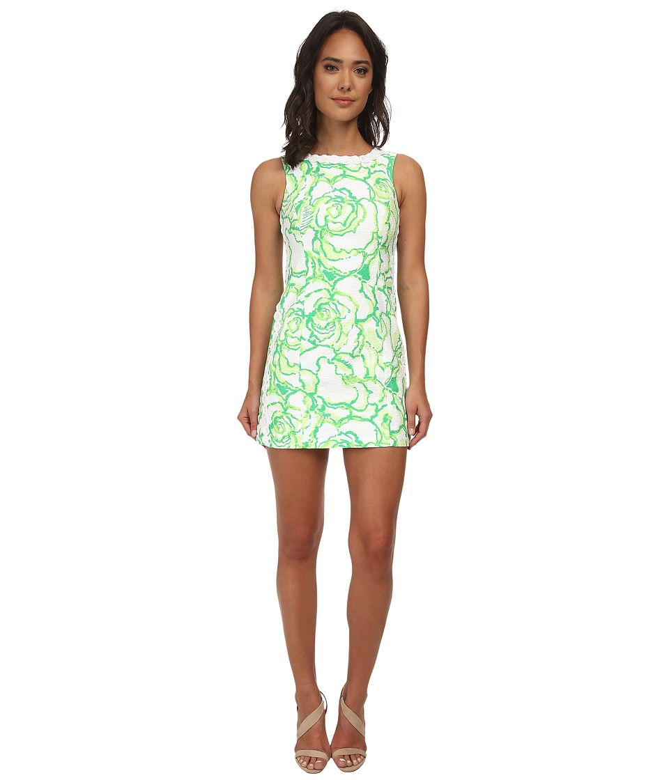 Lilly Pulitzer - Mila Shift Dress (Resort White Heart Breakers) Women's Dress