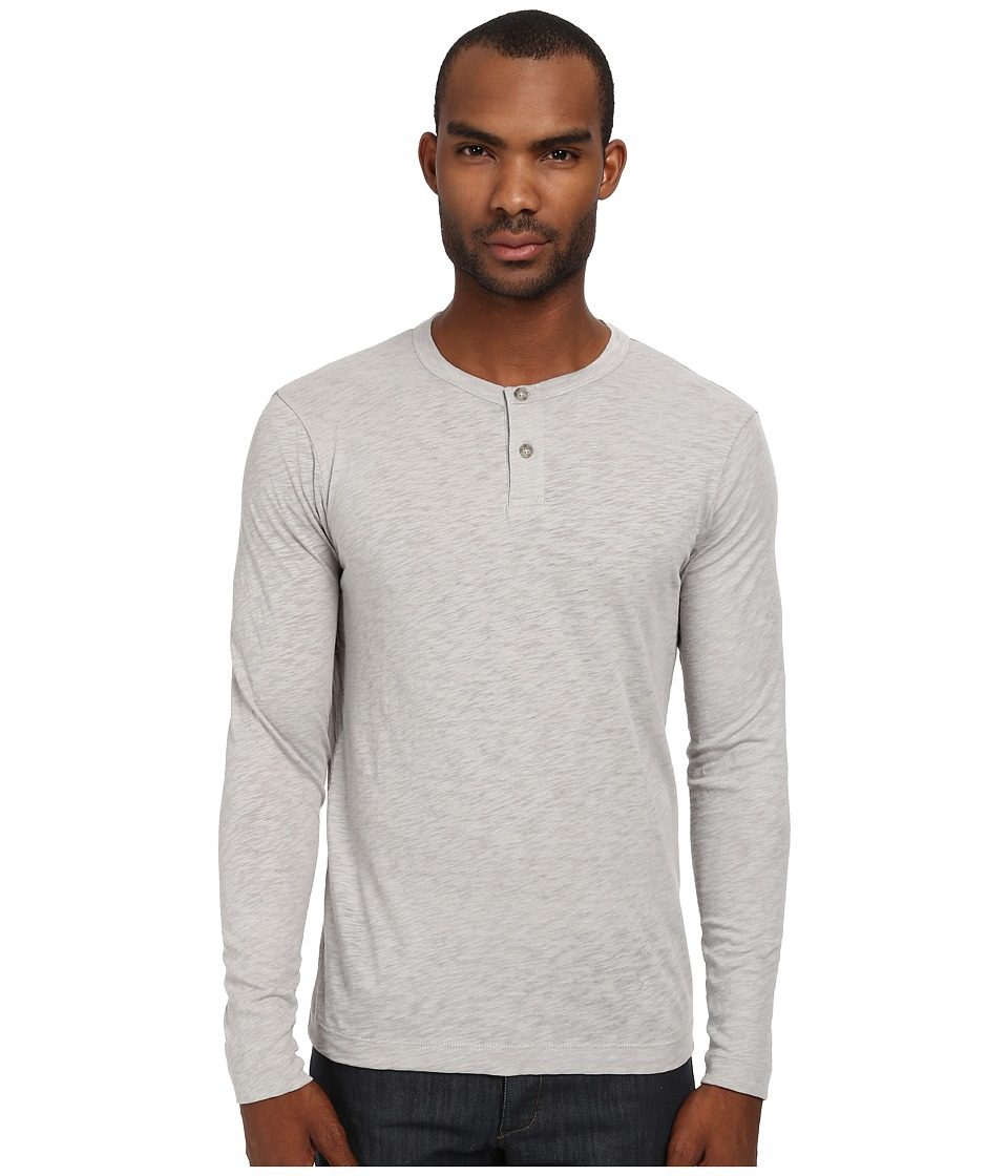 Theory - Gaskell HL Nebulous (Powder) Men's Long Sleeve Pullover