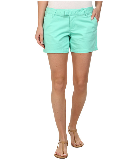 Volcom - Frochickie 5 Short (Green Spray) Women's Shorts