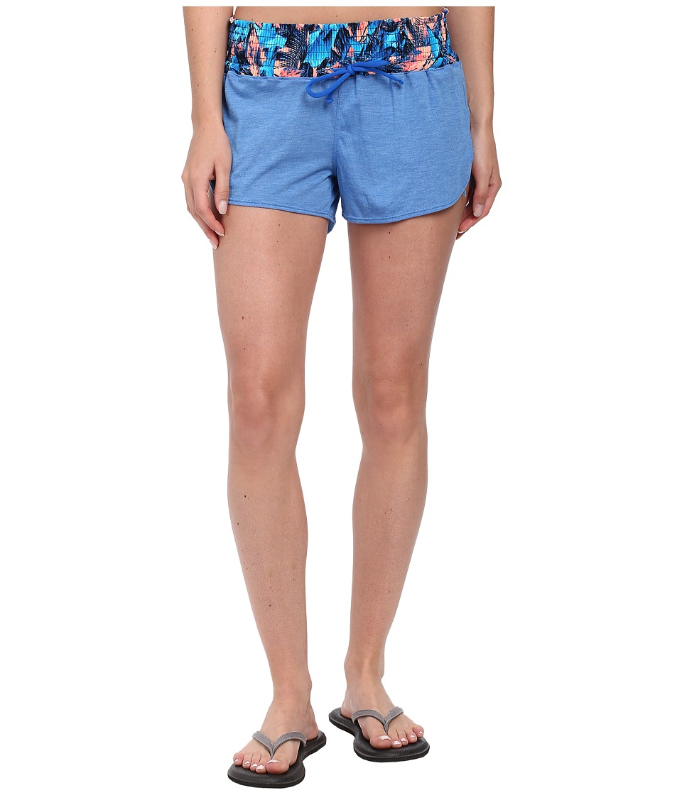 TYR - Santorini Tidal Wave Short (Blue/Multi) Women's Shorts