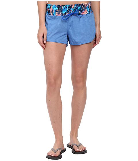 TYR - Santorini Tidal Wave Short (Blue/Multi) Women's Shorts