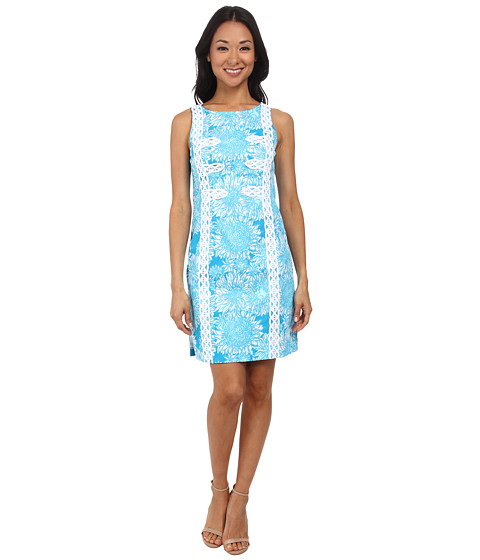 Lilly Pulitzer - Mirabelle Shift Dress (Ariel Blue Lion in the Sun) Women's Dress