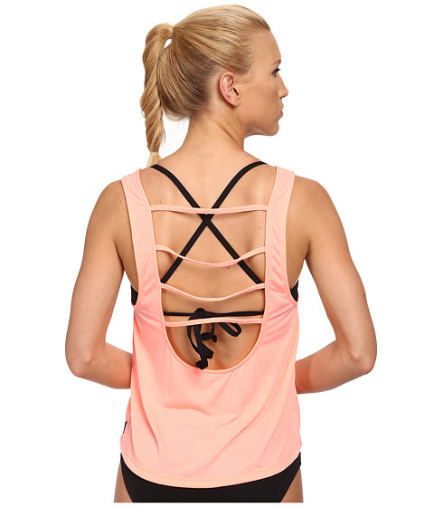 TYR - Santorini Off The Wall Tank (Coral) Women