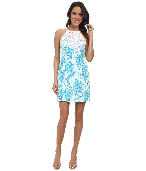 Lilly Pulitzer - Pearl Shift Dress (Resort White Back It Up) Women's Dress