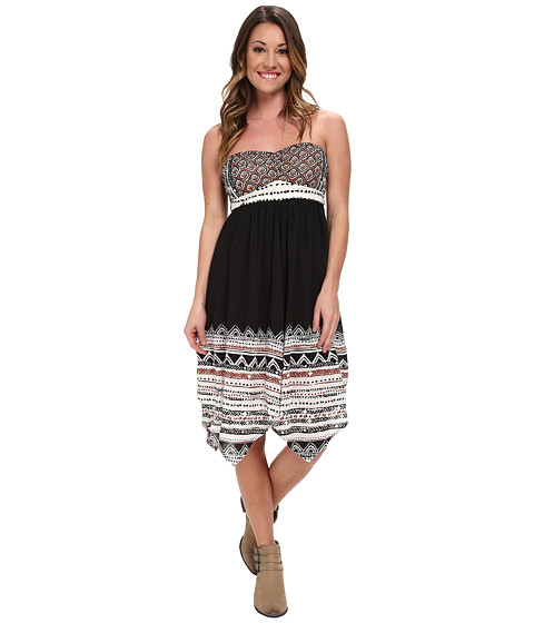 Volcom - Spinternship Dress (Vintage Black) Women