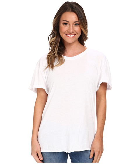 Volcom - Lived In O/D Tee (White) Women