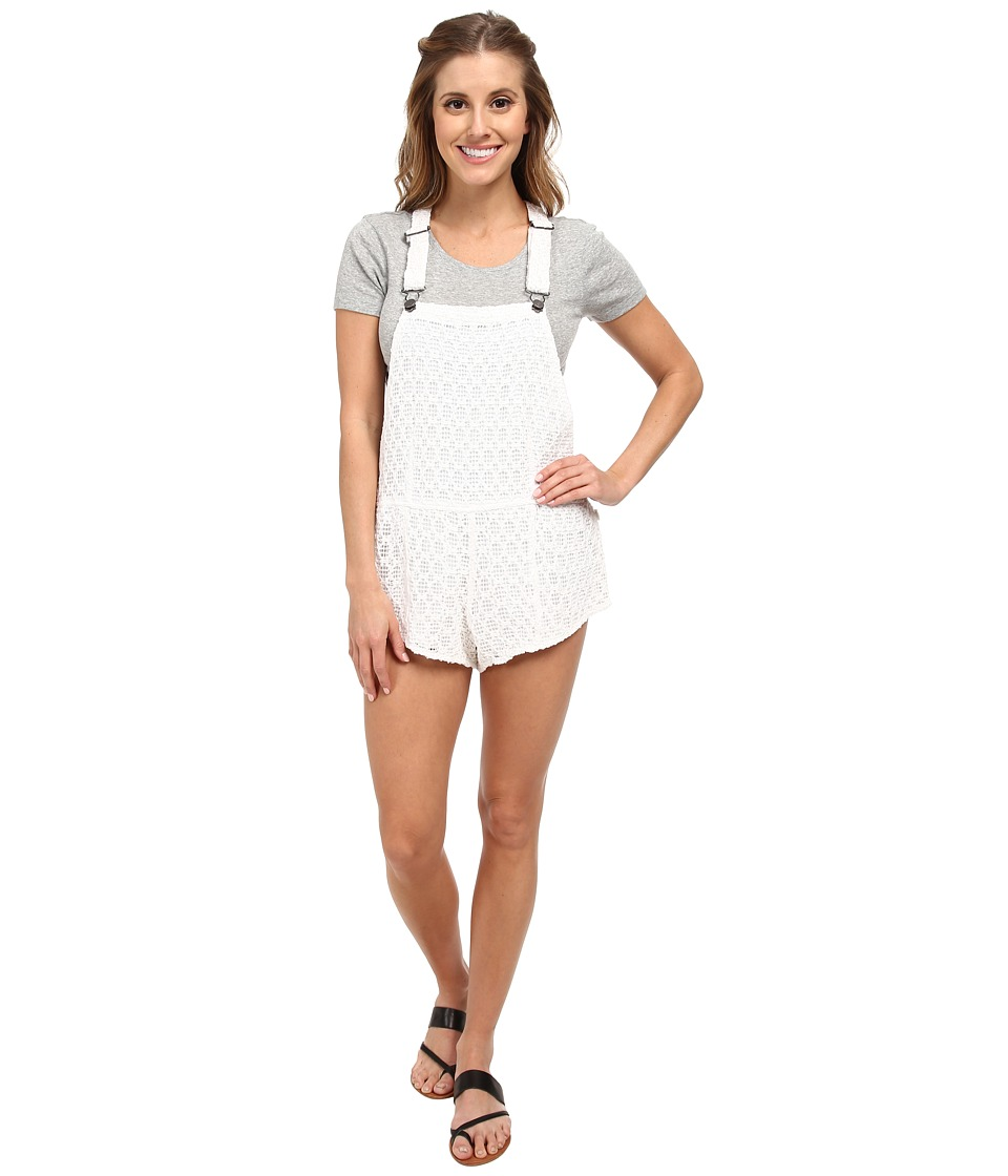 Volcom - Skippin Rope Romper (White) Women's Jumpsuit & Rompers One Piece