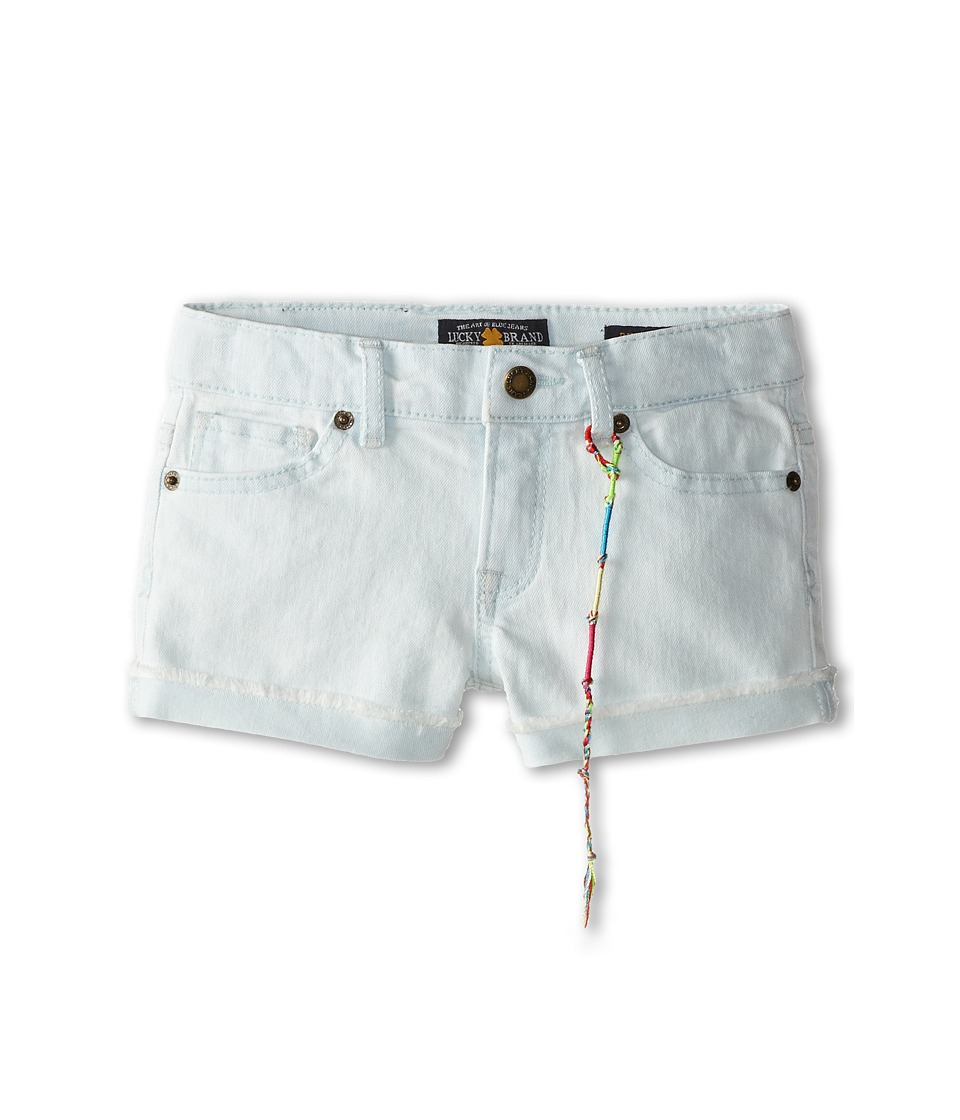 Lucky Brand Kids - Girls' Riley Denim Short (Little Kids) (Sydney Wash) Girl's Shorts