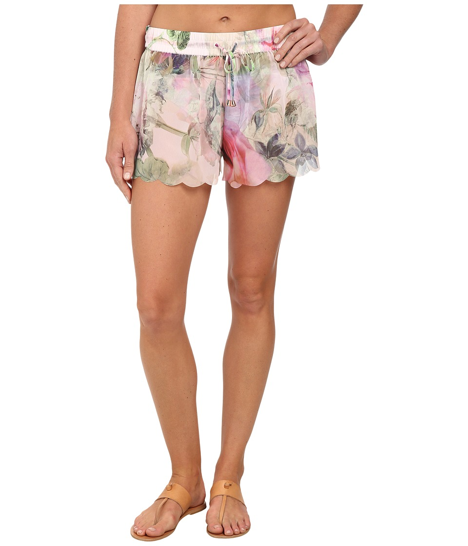 Ted Baker - Scole Pure Peony Scallop Shorts (Dusky Pink) Women
