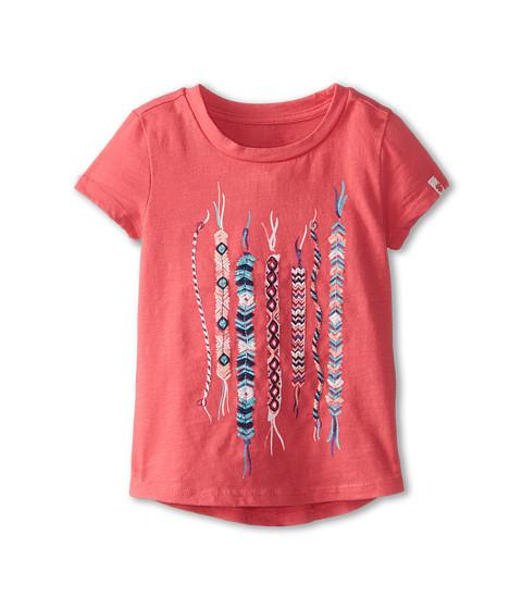 Lucky Brand Kids - Friendship Bracelet Tee (Toddler) (Claret Red) Girl