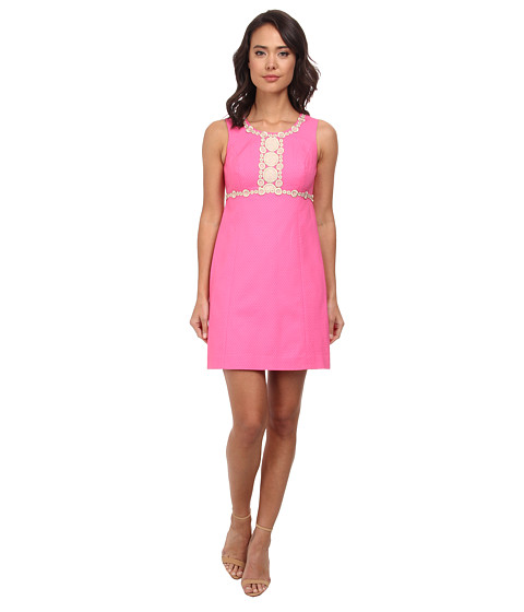 Lilly Pulitzer - Rosie Shift Dress (Hotty Pink) Women