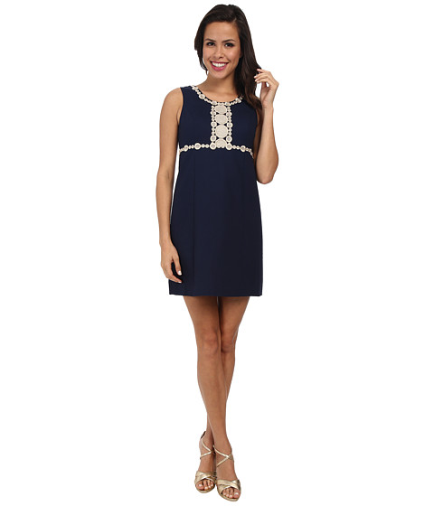 Lilly Pulitzer - Rosie Shift Dress (True Navy) Women's Dress