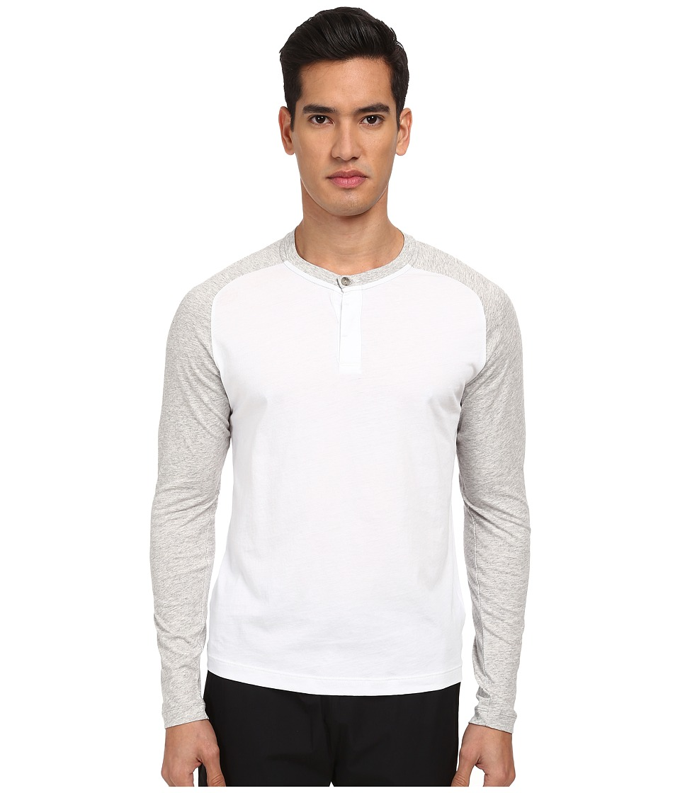 Theory - Venn HLB T-Shirt (White Multi) Men's T Shirt