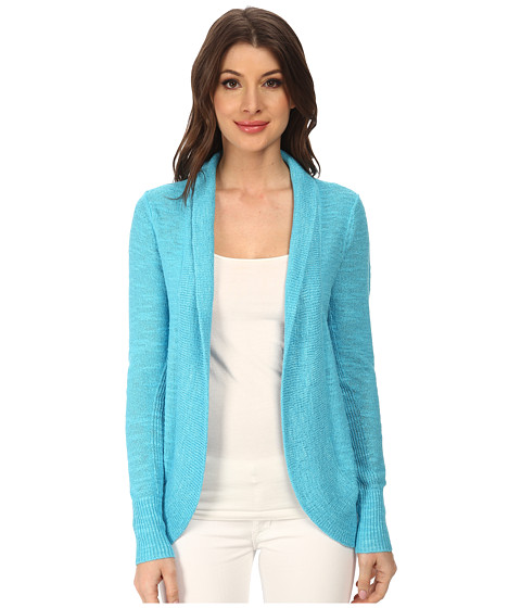 Lilly Pulitzer - Amalie Cardigan (Searulean Blue) Women's Sweater
