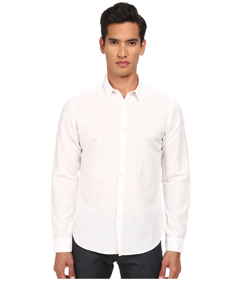 Theory - Zack PS Rotuma (White) Men's Clothing