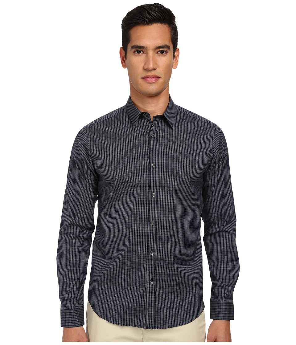 Theory - Zack PS Pritchard (Eclipse Multi) Men's Long Sleeve Button Up