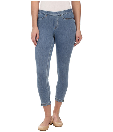 HUE - Original Jeans Capri (Classic Light Wash) Women