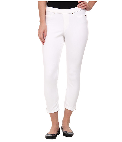 HUE - Original Jeans Capri (White) Women
