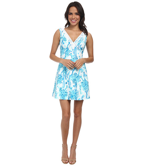 09fb0c1cb5531f UPC 630306092838 product image for Lilly Pulitzer - Brynn Dress (Resort  White Back It Up