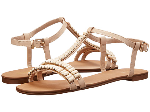 Dune London - Nimbo (Nude Leather) Women's Sandals