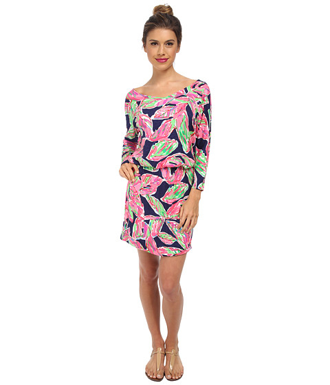 Lilly Pulitzer - Cara Dress (Bright Navy in the Vias) Women's Dress